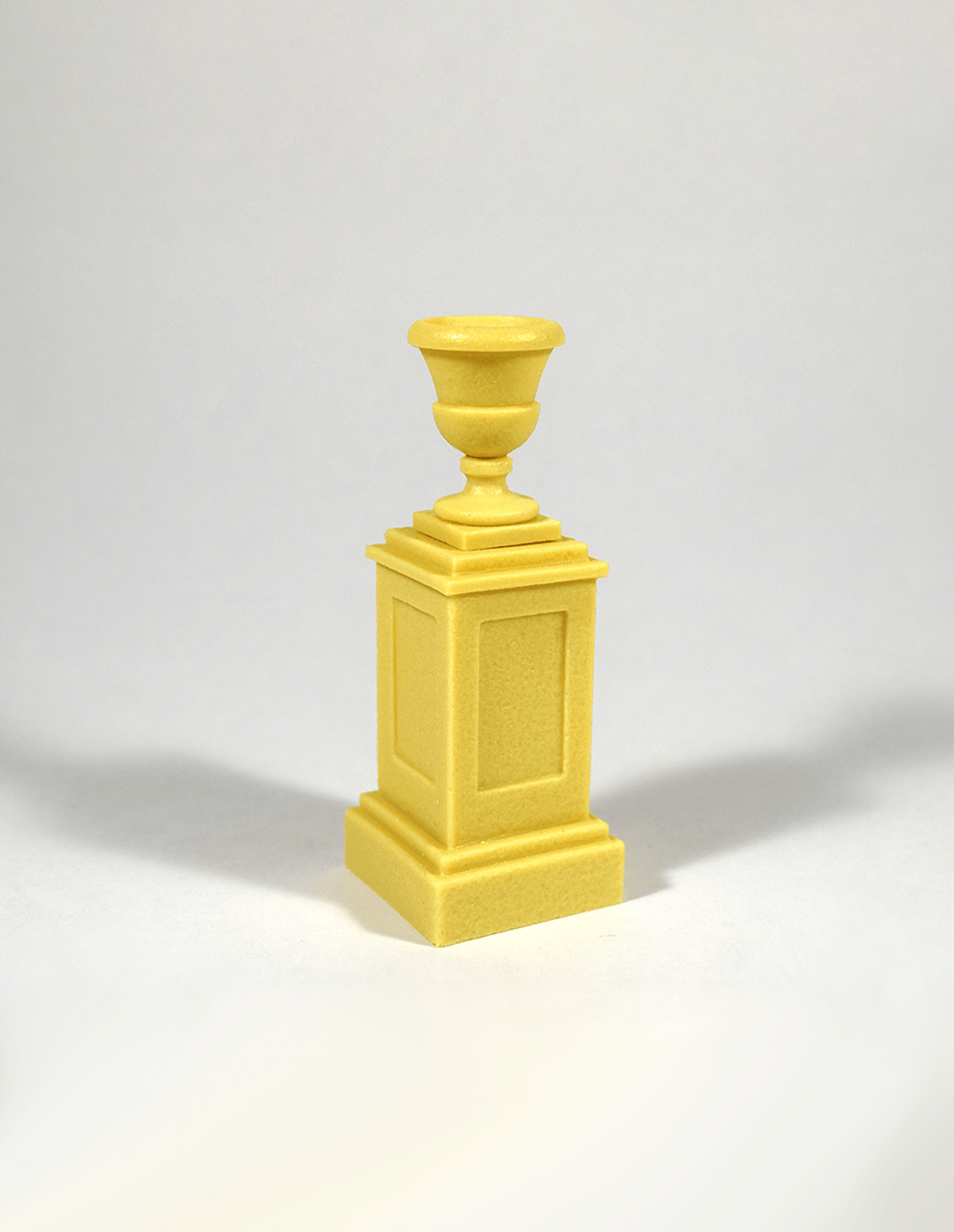 Armand Bayardi & Pedestal with Flower Pot